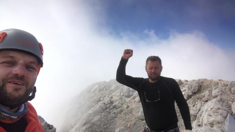 На вершине горы Фишт, 19 сентября 2019