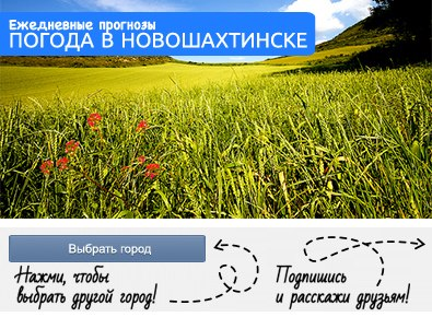 GISMETEO RU: Погода в Новошахтинске на месяц