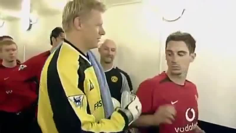 "United Xtra - G Neville on refusing to acknowledge Schmeichel_ ""He left United at the age of whateve"