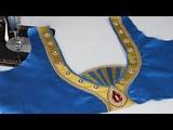 Paithani Saree Blouse Back Neck Design easy