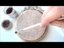 How To Create a Cracked Glaze Effect on a Cookie Using Royal Icing