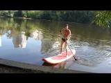 Сёрфинг на Москве-реке!