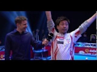 Naoyuki Oi bizarre post-match reaction interview | World Pool Masters