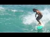 Emerick Ishikawa - Twin Fin Surfing at Diamond Head