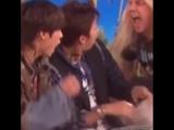 реакция парней на шоу Ellen