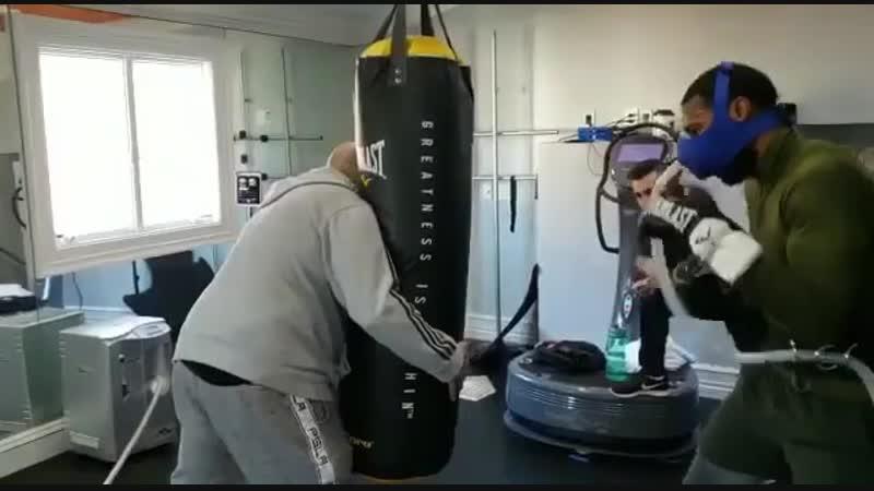 🎬Новая методика работы на скоростно-силовой выносливости боксера 🥊