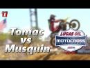 Eli Tomac vs Marvin Musquin High Point 2018 Moto 2