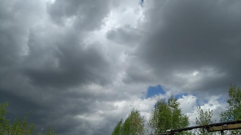 Кунгур перед дождем Тучи облака смотреть онлайн без регистрации