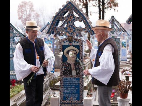 Cimitirul Vesel Sapanta documentar audio de Prof Dr Teodor Ardelean cu V Museteanu si Sorin Tanase