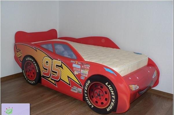 Кровать тачки фото