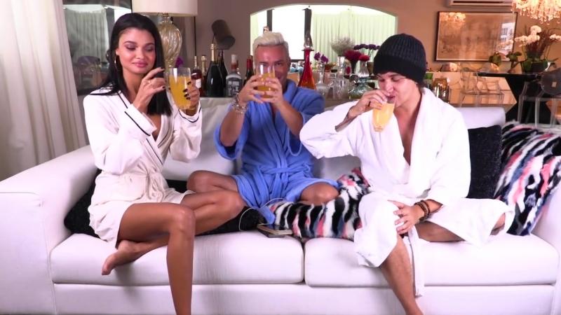 Beijo Triplo com Christian Figueiredo e Dani Braga. TAG_ Eu Nunca _ HotelMazzafera