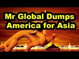 Mr Global Ditches US for Asia, You Funded Secret Space Program For Mr Global wC.A. Fitts (1of2)