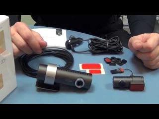 Видео обзор видеорегистратора Blackvue WiFi DR550 GW-2CH с двумя камерами