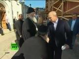 Очень приятно царь - Путин, прикол, ржач, смех, жесть, власть, крым, украина, террористы, поп, священник, церковь, поцелуй