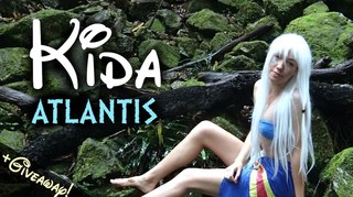 Kida (Atlantis): DIY Costume & Makeup Tutorial   #ForgottenDisneyGirls