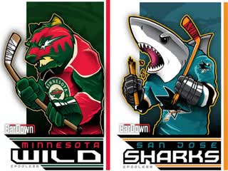 Minnesota Wild vs San Jose Sharks