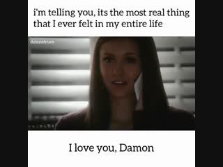 Я люблю тебя, Деймон... (4x10)