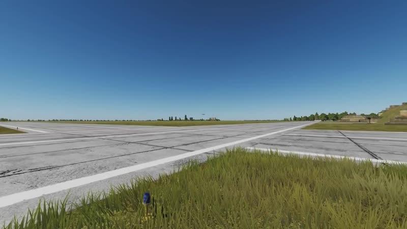 [SandMartin] Вертикальный взлет на МиГ-29 в DCS World (MIG-29 Fulcrum Vertical climb) сверхзвук (supersonic)