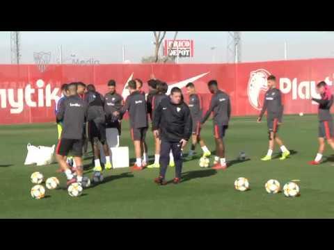 Marko Rog, novedad en el último entrenamiento previo al Camp Nou