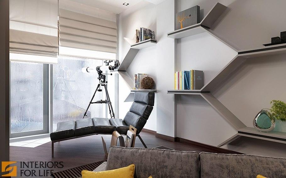 Дизайн однокомнатной квартиры-студии 43 кв.м