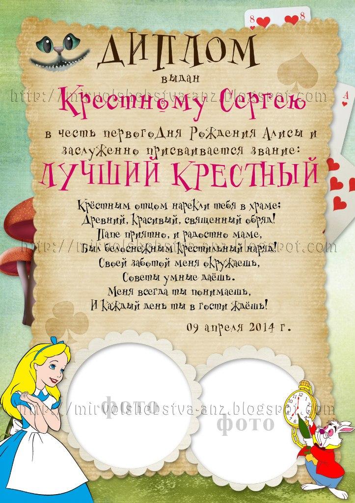 Мир волшебства Анжелики Наборы Алиса в Стране чудес В набор с Алисой входят плакаты достижения за год от рождения до года для пожеланий от гостей дипломы анкета растяжки наклейки на сок