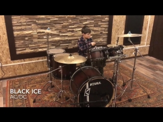 AC/DC - Black Ice [Drum cover by LAMPA]