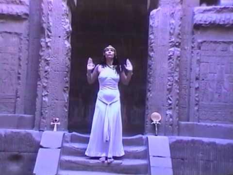 Hathor in Dendera Delilah Flynn