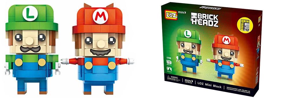 """Конструктор LOZ BrickHeadz """"Марио"""" 1706"""