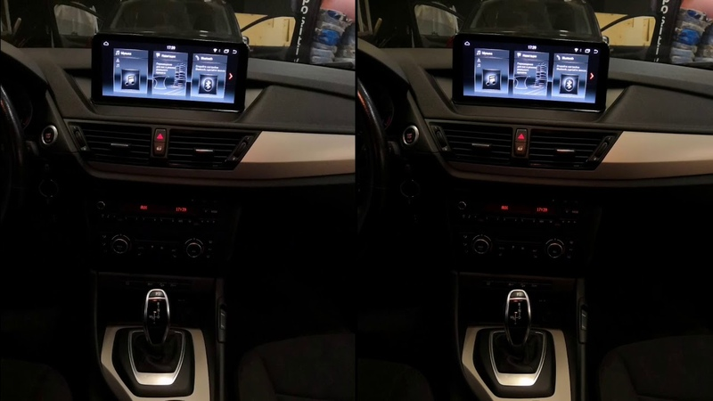 Штатная магнитола для BMW X1 на Android PF8219i
