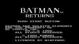 Batman Returns (прохождение без комментариев)