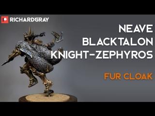Richard Gray - Neave Blacktalon. Fur Cloak