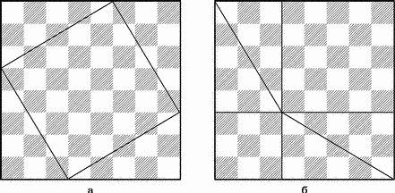 Теорема Пифагора на шахматной доске