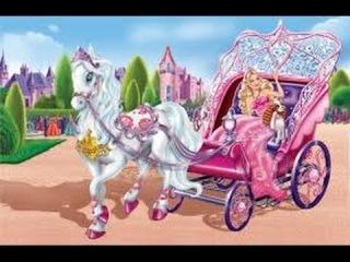 Барби смотреть Таинственная прогулка новая серия, игра как мультик для детей часть 2