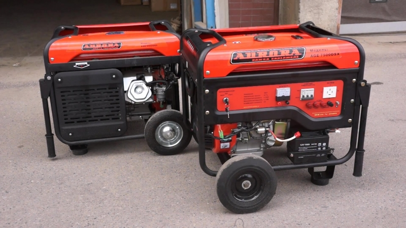 AGE 6500 DSX и 7500 DSX – 2 по 380