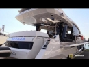 2019 Galeon 650 Skydeck Yacht Deck and Interior Walkaround 2018 Cannes Yachting Festival