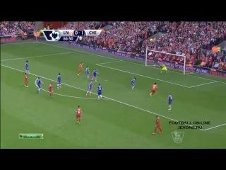 Ливерпуль - Челси 0 - 2. Обзор матча АПЛ 27 апреля 2014