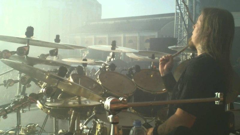 Pearl Artist Fredrik Andersson/Amon Amarth Drum Cam Tuska 2011 - Doom Over Dead Man