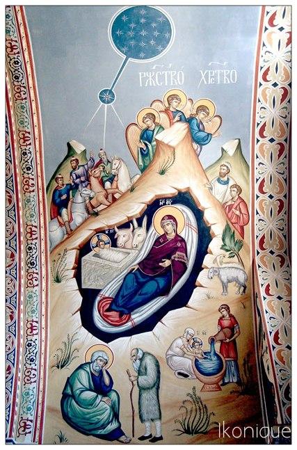 Фреска Рождество Христово (Ikonique )