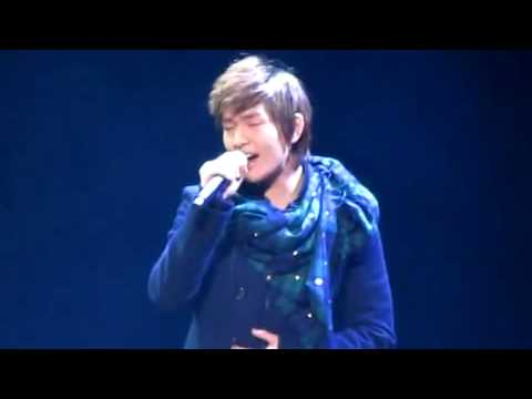 [Closer Fancam] 100126 Onew Now and forever @ J-Fanmeet