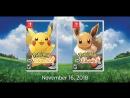 Pokemon Lets Go - Nintendo Switch - Trailer