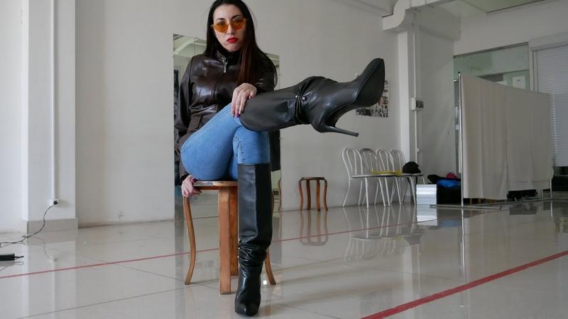 Bella's round toe hidden platform Gianmarco Lorenzi boots Size EU 38 US 7,5