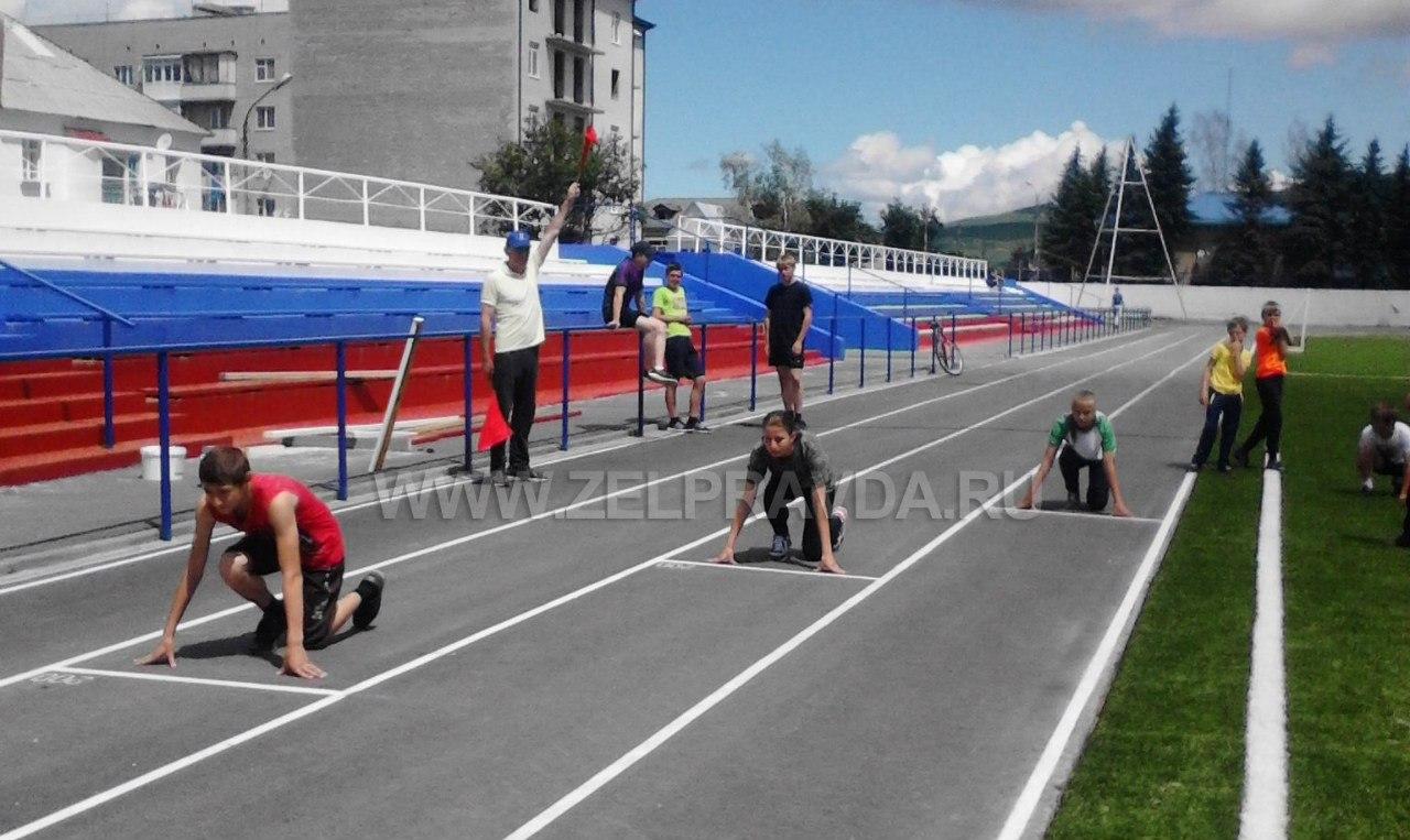 В станице Зеленчукской прошли спортивные мероприятия посвященные Дню России