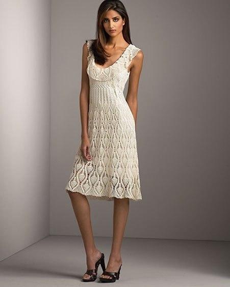 Платье с круглой кокеткой. (7 фото) - картинка