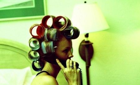 Фото на тему схема накрутки волос на бигуди.