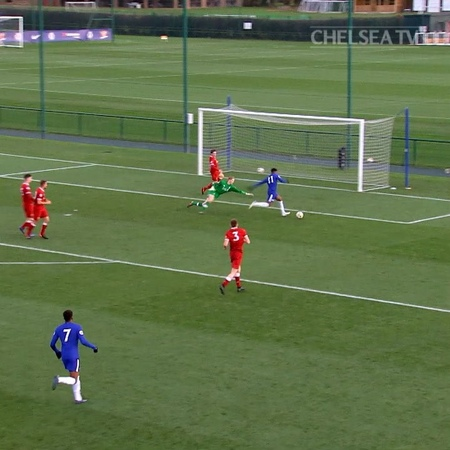 "Chelsea FC on Instagram: ""What a run, what a finish! 😱🔥 @Calteck10's goal v Liverpool is a worthy winner of the 2017/18 Academy Goal of the Season!..."