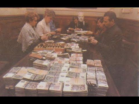 Министр прятал тонны денег в подвале