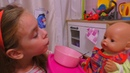 Куклa Беби Бон Кушает Кашу с Вареньем Открывает Сюрприз LostKitties Мультик Для детей