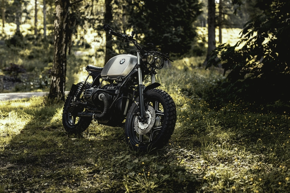 JM Customs: скрэмблер BMW R80RT