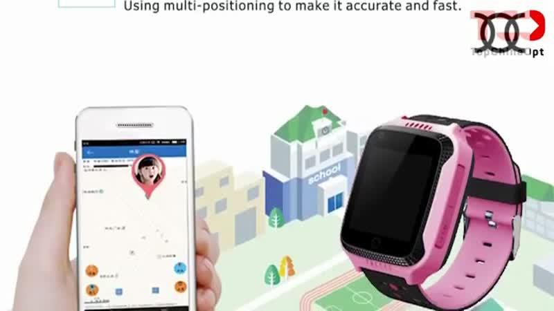 Обзор детских GPS часов Детские часы Smart Baby Watch GPS Q528