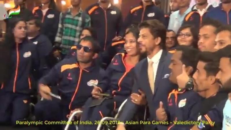 Shah Rukh Khan - Valedictory Function - APG 2018